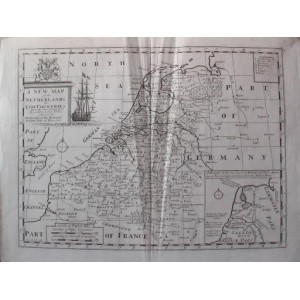 A NEW MAP OF THE NETHERLANDS OR LOW COUNTRIES