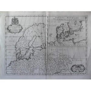 NEW MAP OF ANCIENT SCANDINAVIA TOGETHER WITH ...