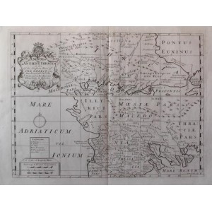 A NEW MAP OF ANTIENT THRACE AS ALSO OF THE NORTHERN ...