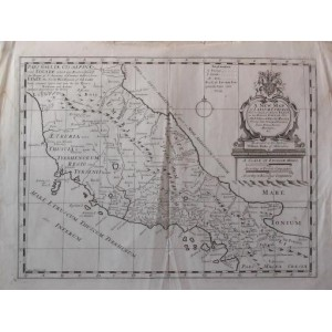 A NEW MAP OF LATIUM, ETRURIA, AND AS MUCH OF ANTIENT ITALY ...