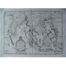 A NEW MAP OF THE EAST INDIES TAKEN FROM MR DE FER'S