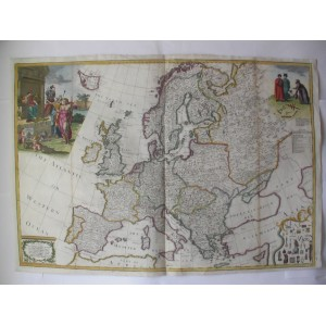 "EUROPE ""Corrected"" According to the latest Discoveries & Observations ..."