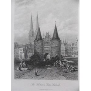 The Holstein Gate, Lubeck