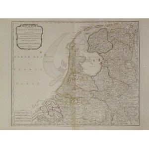 SEAT OF WAR IN THE SEVEN PROVINCES COMPRENDING HOLLAND, ZEELAND, UTRECHT, GELDERS ...