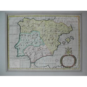 A NEW MAP OF IBERIA EUROPAEA ALIAS CELTIBERIA OR ANCIENT SPAIN ...