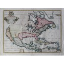 A NEW MAP OF NORTH AMERICA SHEWING ITS PRINCIPAL DIVISIONS ...
