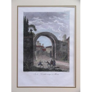 ARC DE TROMPHE ANTIQUE A MERIDA